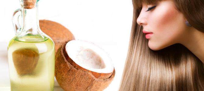 Кокосовое масло для великолепных волос